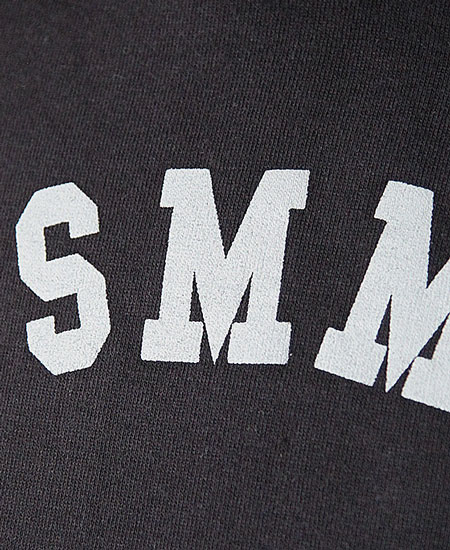 COLIMBO コリンボ ROTC SHACK HEAVY WT.SWEAT-HOODY - MERCHANT MARINE ACADEMY - (BLACK)