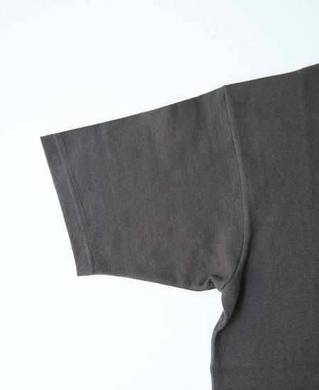 FREEWHEELERS フリーホイーラーズ  SHORT SLEEVE POCKET T-SHIRT (JET BLACK)