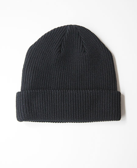 COLIMBO コリンボ FERDY COTTON KNIT CAP (BLACK)