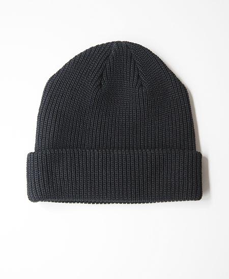 COLIMBO コリンボ FERDY COTTON KNIT CAP (BLACK)