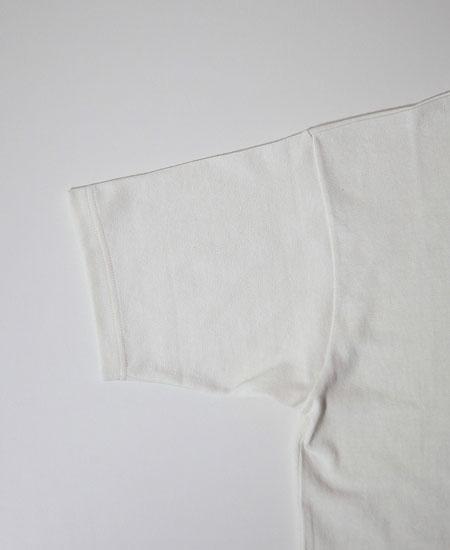 FREEWHEELERS フリーホイーラーズ  SHORT SLEEVE POCKET T-SHIRT (OFF-WHITE)
