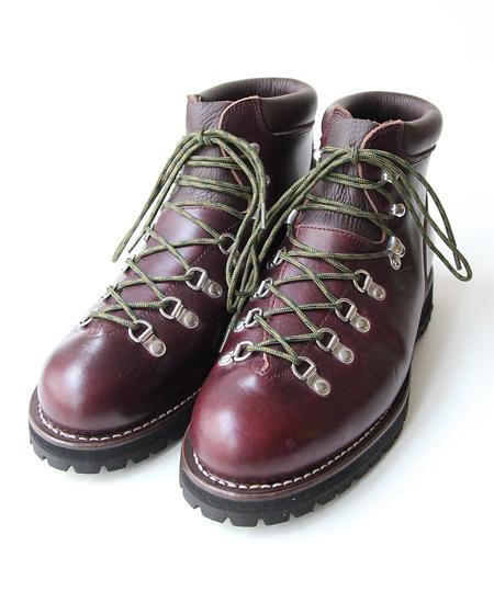 """【別注】 WHEELROBE ウィールローブ 5"""" WANDERING BOOTS ワンダリング ブーツ (BURGUNDY)"""