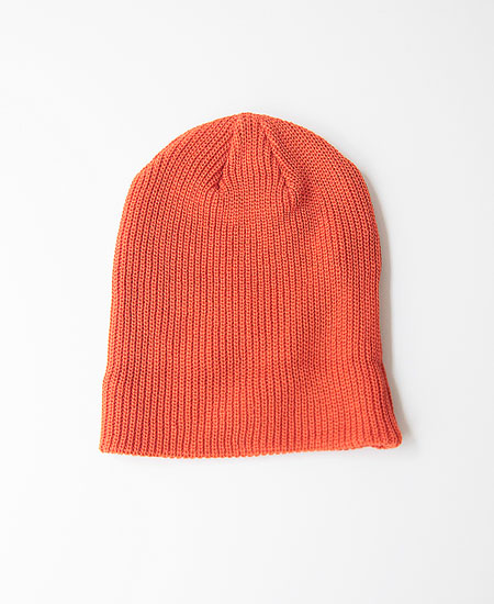 COLIMBO コリンボ FERDY COTTON KNIT CAP (ORANGE)