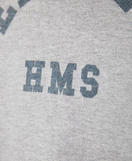 COLIMBO コリンボ ROTC SHACK HEAVY WT.SWEAT-HOODY - FEARLESS ASSAULT SHIP - (MOCK GRAY)