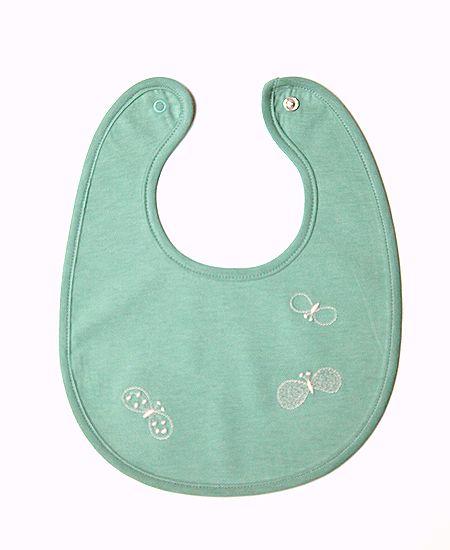 【SALE】 mina perhonen ミナペルホネン choucho  チョウチョ スタイ (baby)(XS7861P)