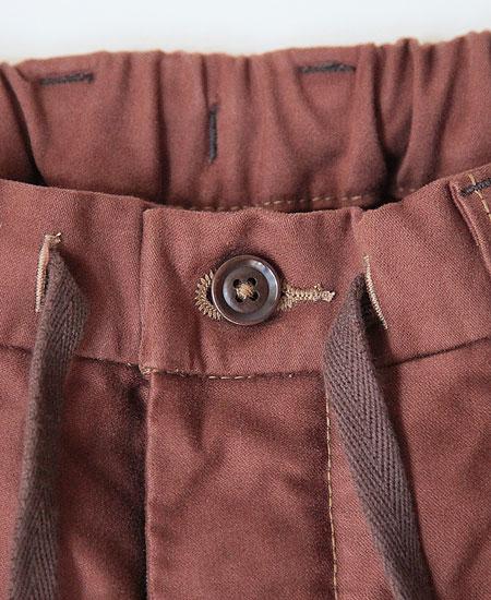 COLIMBO コリンボ GRAHAM MOLESKIN WORK EZ-PANTS (CHESTNUT BROWN)