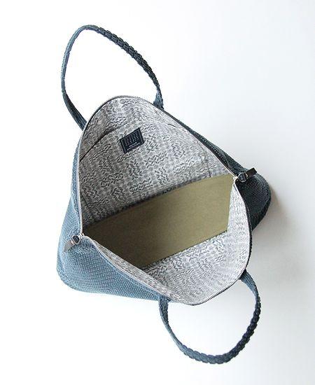 mina perhonen ミナペルホネン bell bag -land puzzle- ベルバッグ ランドパズル (大)