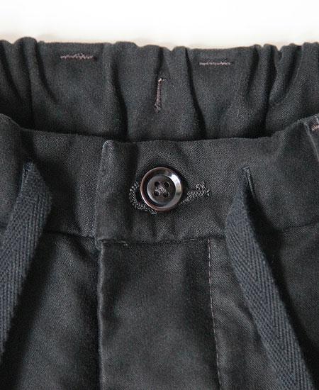 COLIMBO コリンボ GRAHAM MOLESKIN WORK EZ-PANTS (BLACK)