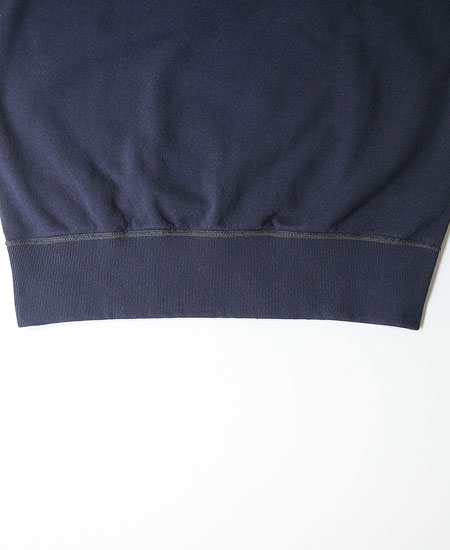 COLIMBO コリンボ HAMILTON FLAT SEAMED SWEAT SHIRT (NAVY)