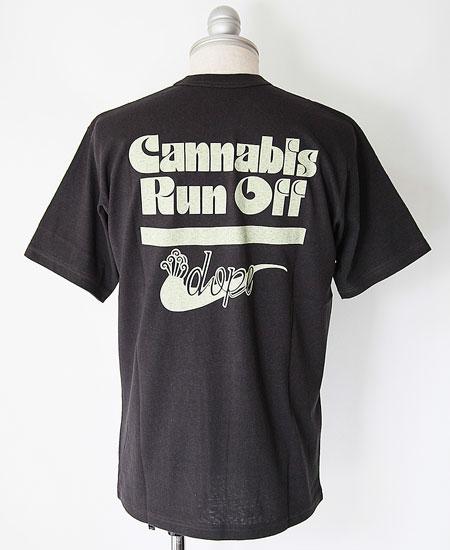 FREEWHEELERS フリーホイーラーズ  CANNABIS RUN OFF (SHADY BLACK)