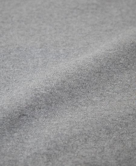 COLIMBO コリンボ HAMILTON FLAT SEAMED SWEAT SHIRT (MOCK GRAY)