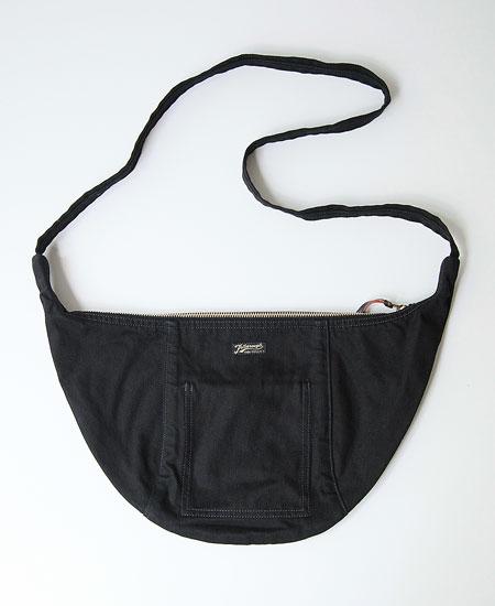 【別注】COLIMBO コリンボ LUNA PARK HALF-MOON BAG (BLACK)