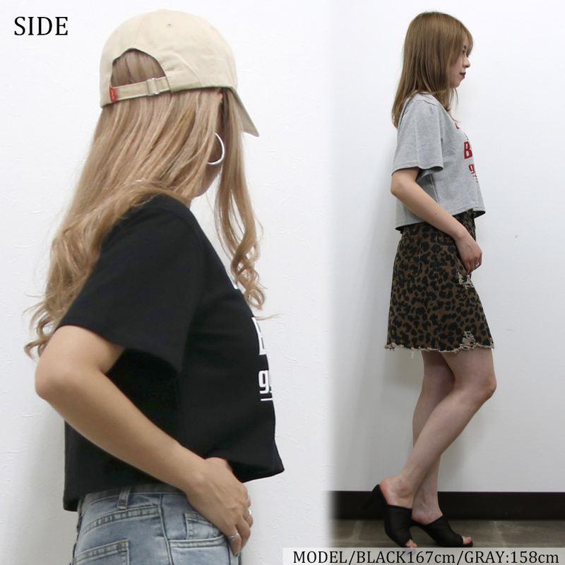 カラーロゴショートTシャツ