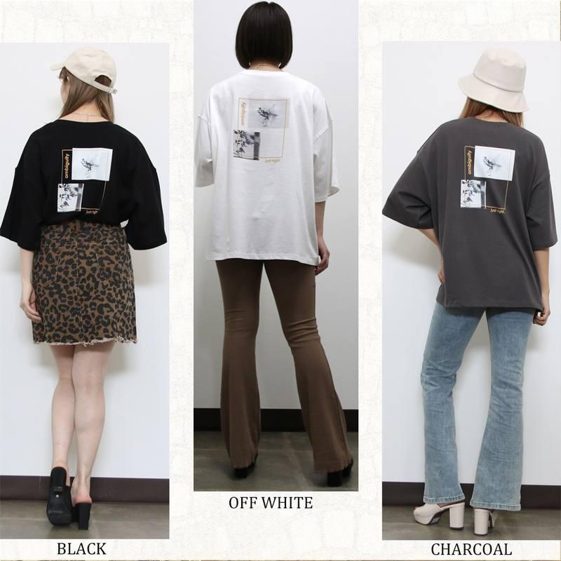 [SALE]囲み転写Tシャツ