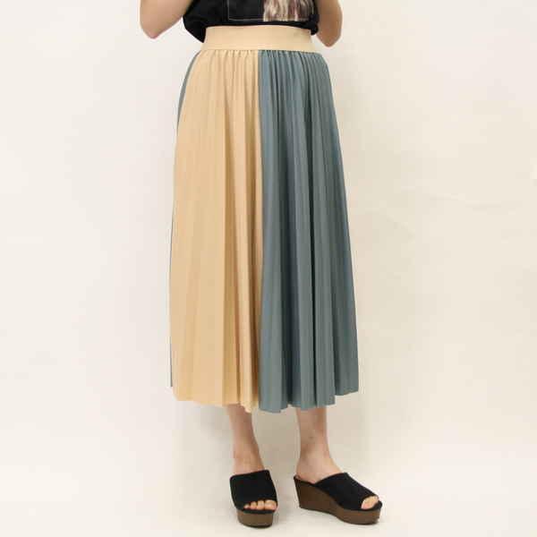 [SALE]★WEB限定★ハイショクプリーツロングスカート