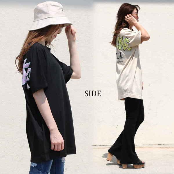 [SALE]★WEB限定★クルーネックドルマンTシャツ
