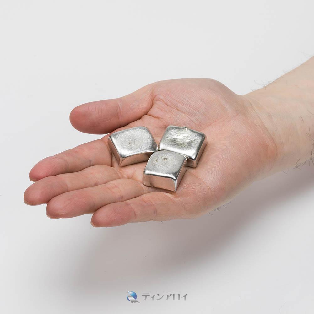 ホワイトメタルチップ(3種) 1kg