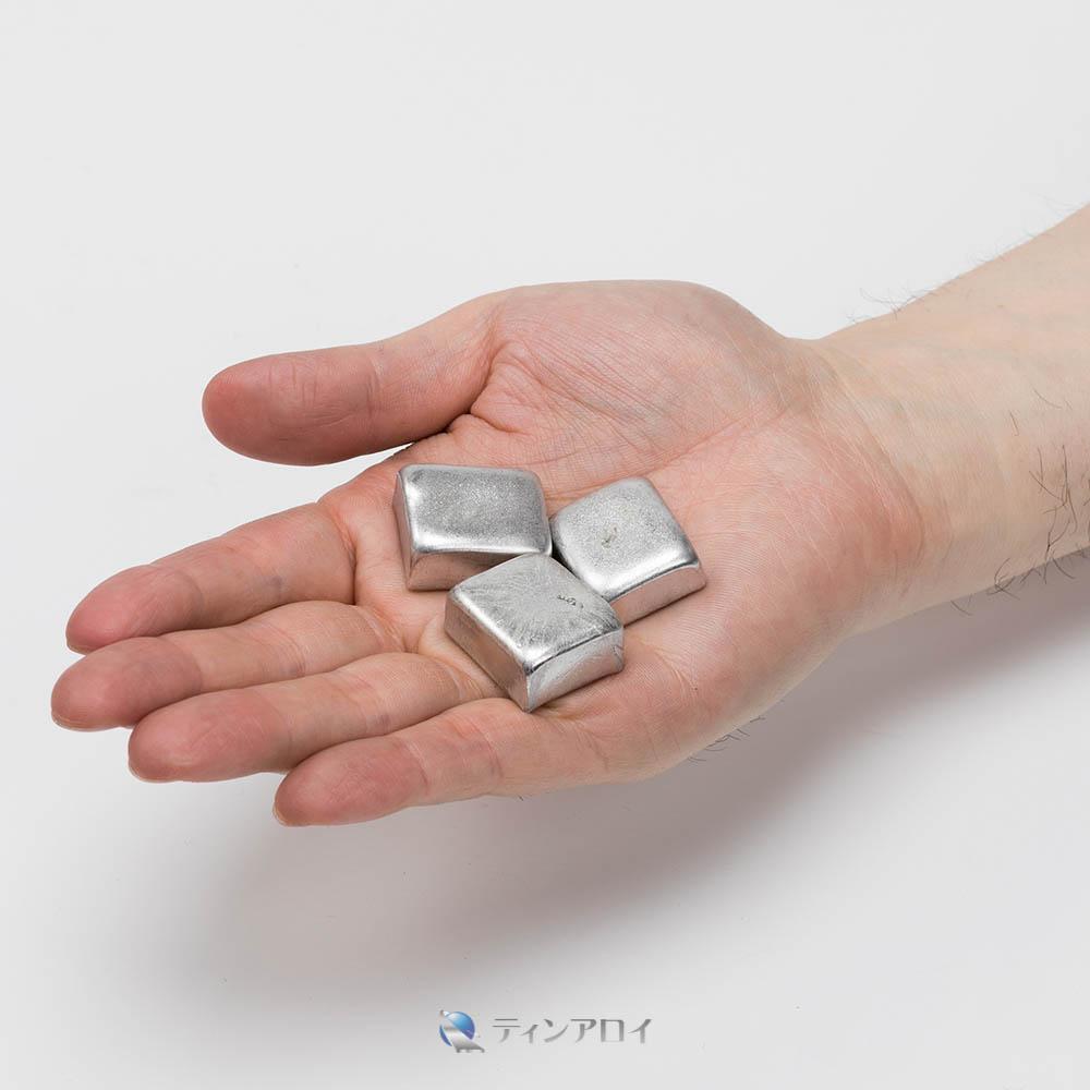 ホワイトメタルチップ(4種) 1kg