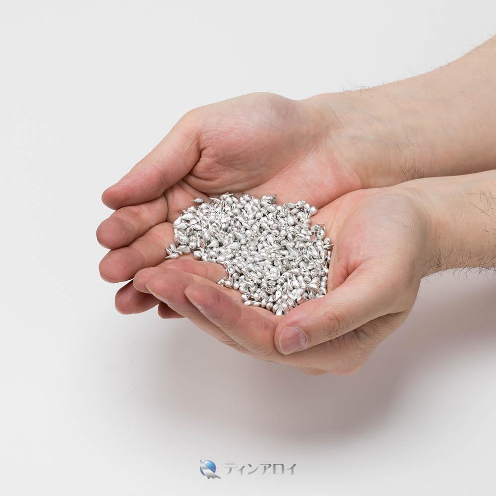 ハンダショット 鉛フリー(Sn98.5Cu1.5/錫98.5銅1.5) 1kg