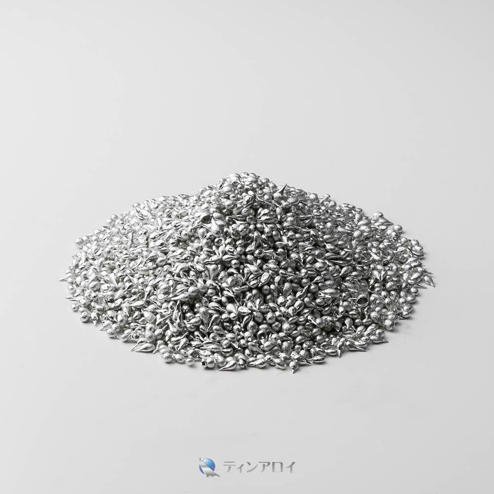 ハンダショット 鉛フリー(Sn96.5Ag3.5/錫96.5銀3.5) 1kg
