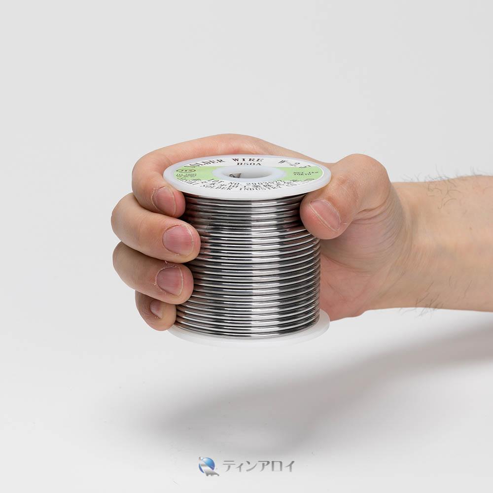 ハンダ線コイル巻き(Sn50Pb50/錫50鉛50) 2.5φ 1kg