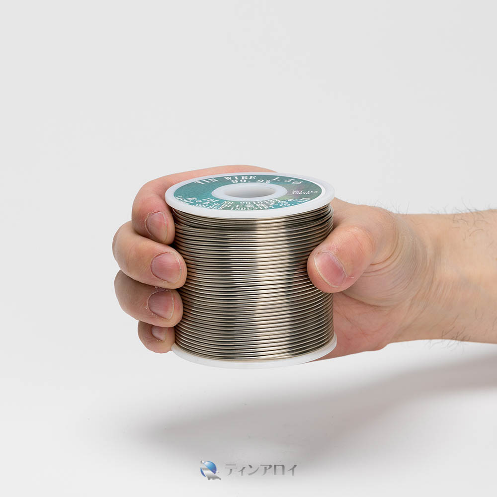 錫線コイル巻き(三菱錫 純度:99.995%up) 1.5φ 1kg