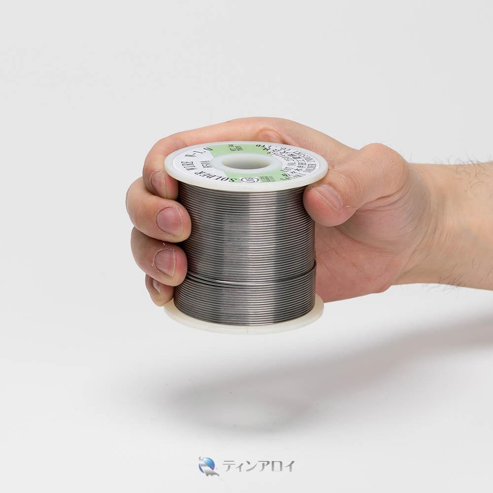 ハンダ線コイル巻き(Sn63Pb37/錫63鉛37) 1kg 1.0φ