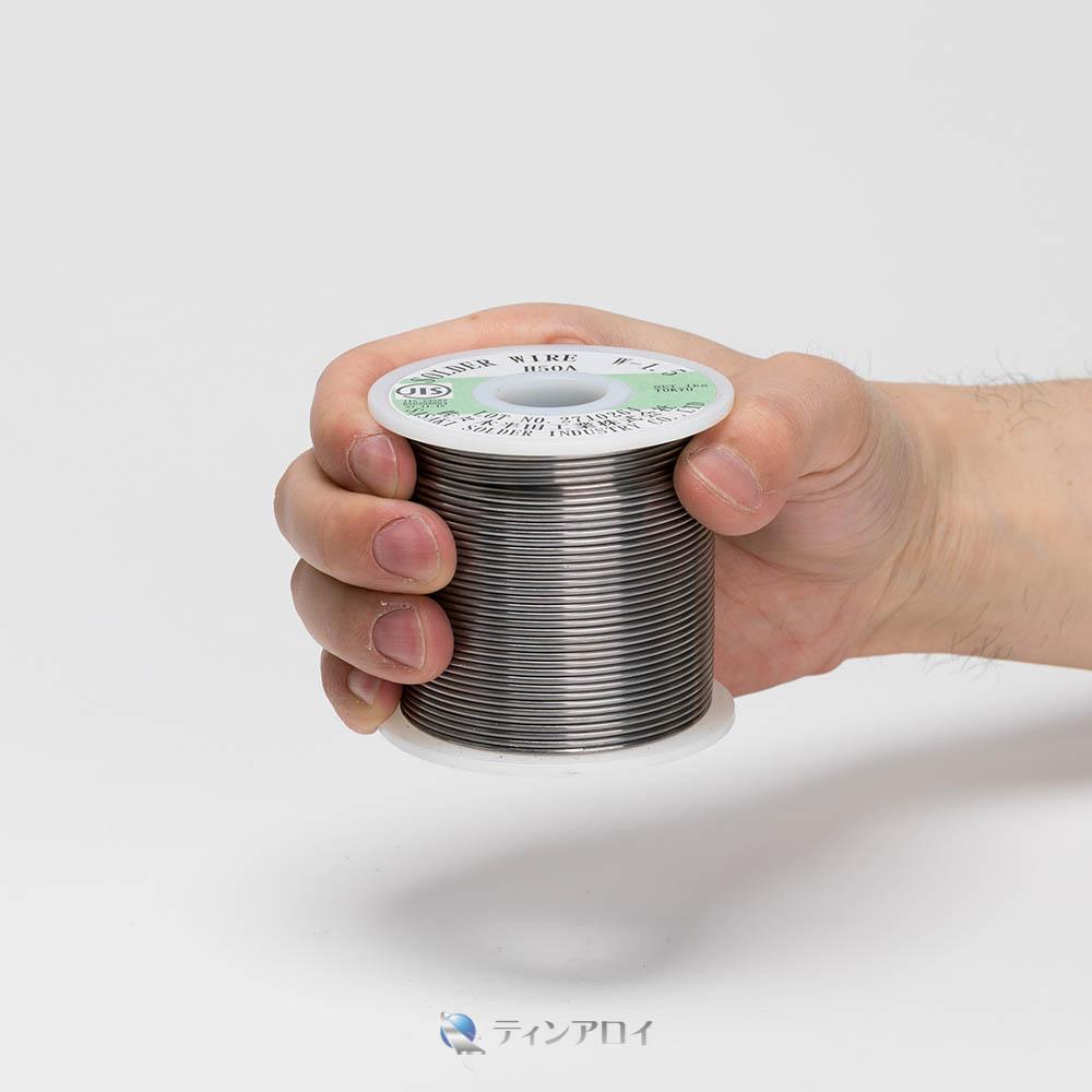 ハンダ線コイル巻き(Sn63Pb37/錫63鉛37) 1kg 1.5φ