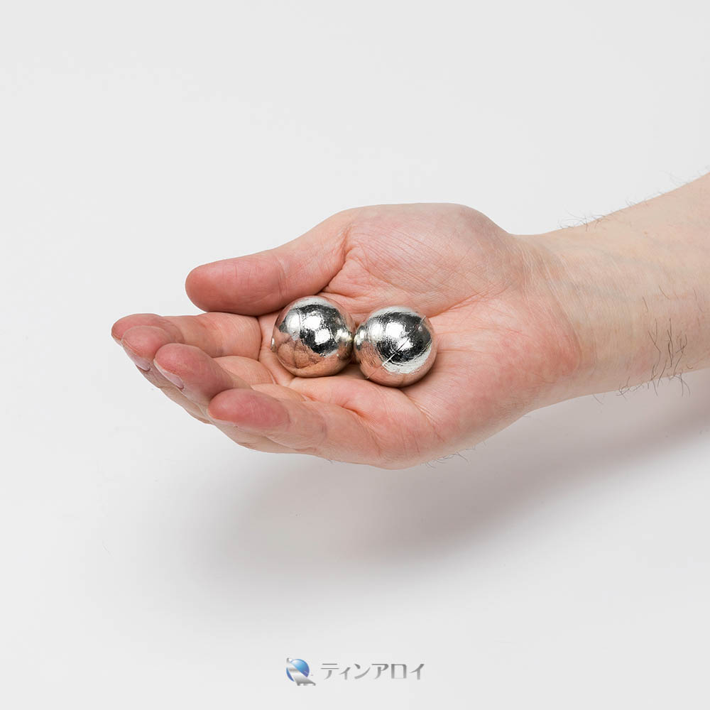 錫ボール(三菱錫 純度:99.995%up) 27φ 1kg