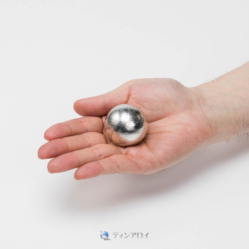 錫ボール(三菱錫 純度:99.995%up) 40φ 1kg