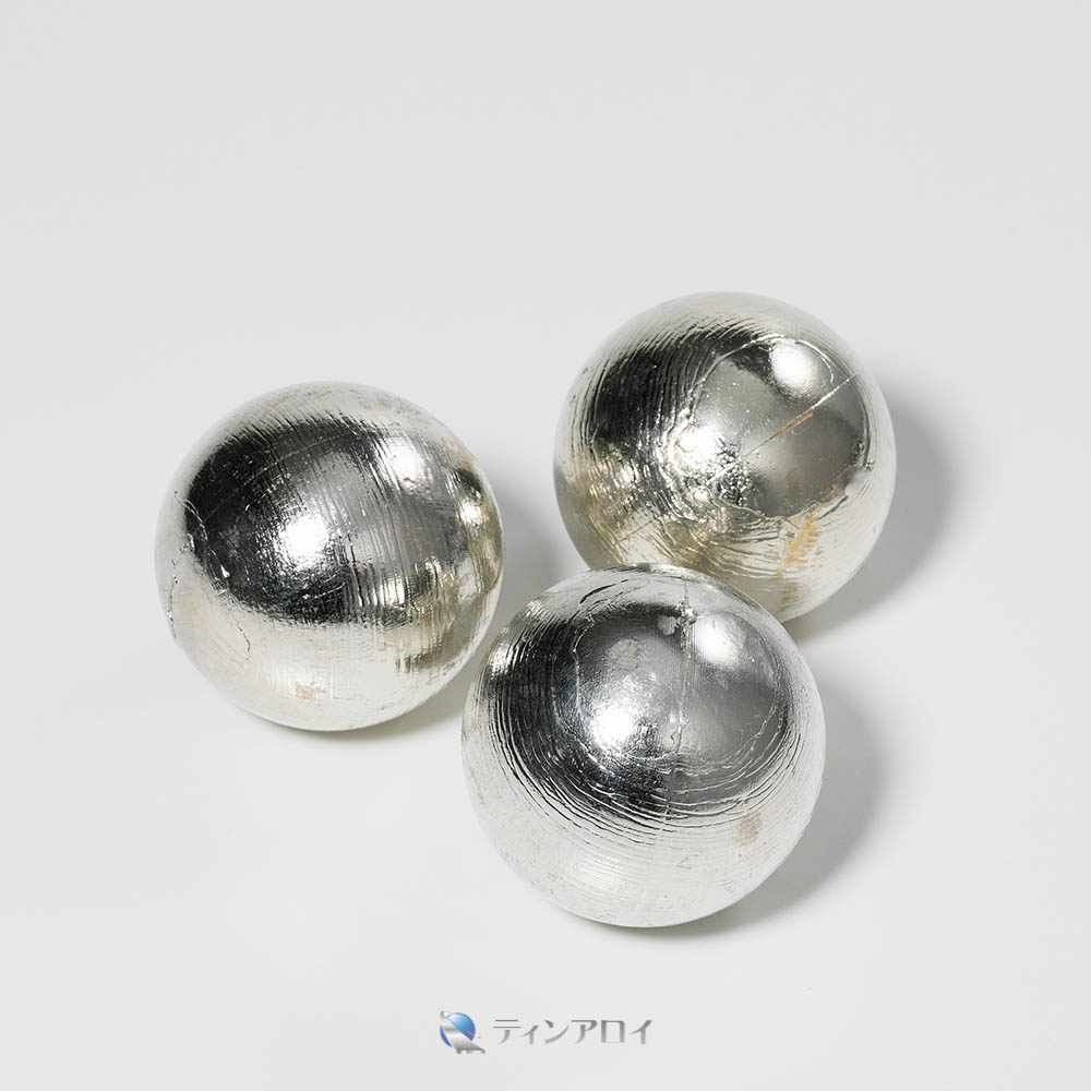錫ボール(三菱錫 純度:99.995%up) 50φ 1kg