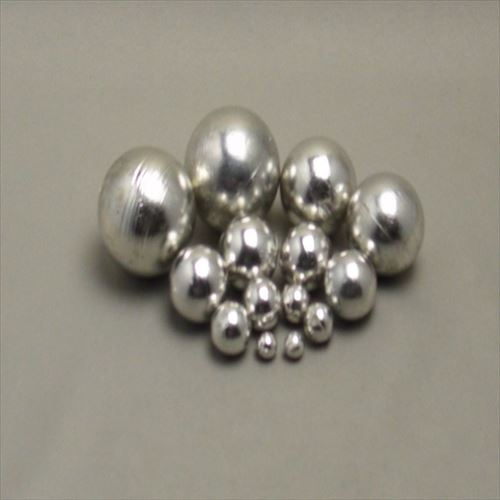 ハンダボール 鉛フリー(Sn96.5Ag3Cu0.5/錫96.5銀3銅0.5) 50φ 1kg