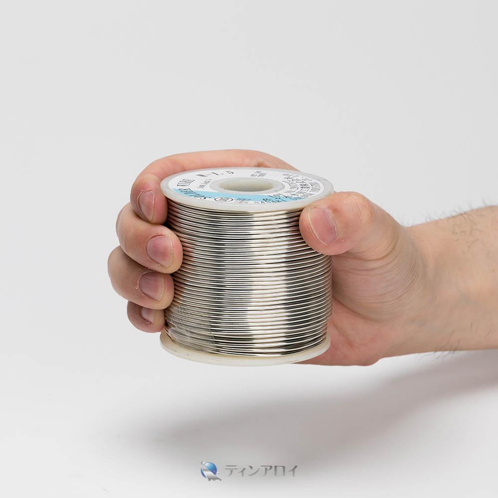ハンダ線コイル巻き 鉛フリー(Sn98.5Cu1.5/錫98.5銅1.5) 1.5φ 1kg