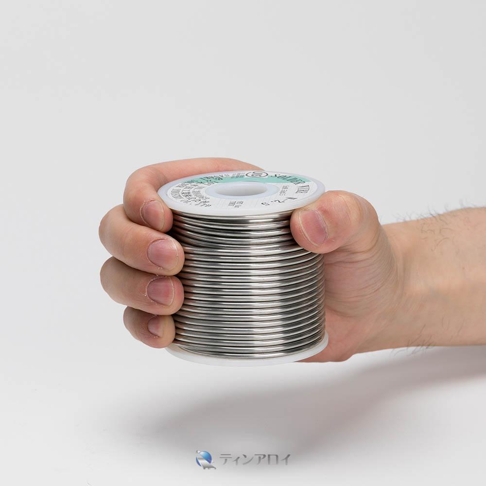 ハンダ線コイル巻き 鉛フリー(Sn98.5Cu1.5/錫98.5銅1.5) 2.5φ 1kg
