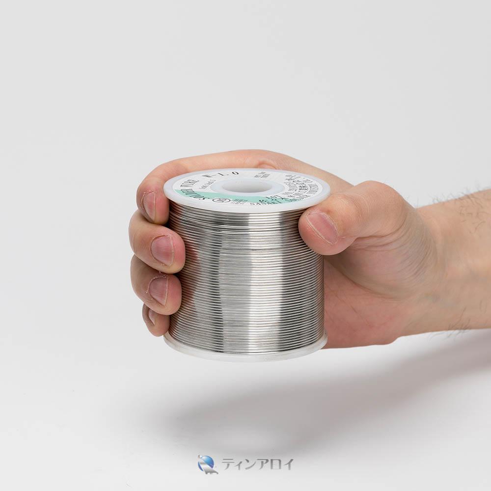 ハンダ線コイル巻き 鉛フリー(Sn96.5Ag3.5/錫96.5銀3.5) 1.0φ 1kg