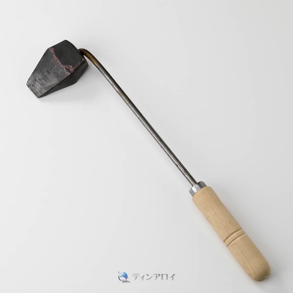 銅こて(オノ型)600g