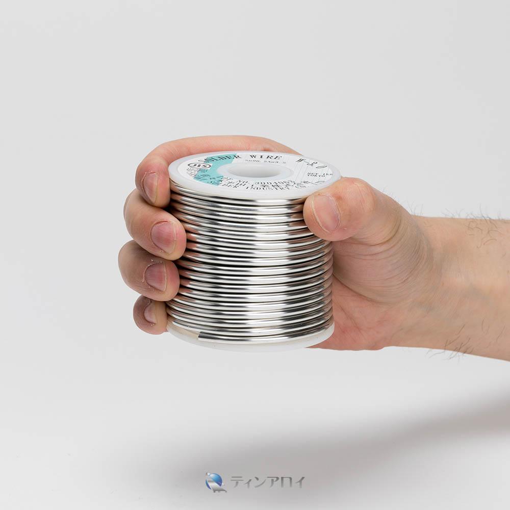 ハンダ線コイル巻き 鉛フリー(Sn96.5Ag3Cu0.5/錫96.5銀3銅0.5)  3.0φ 1kg