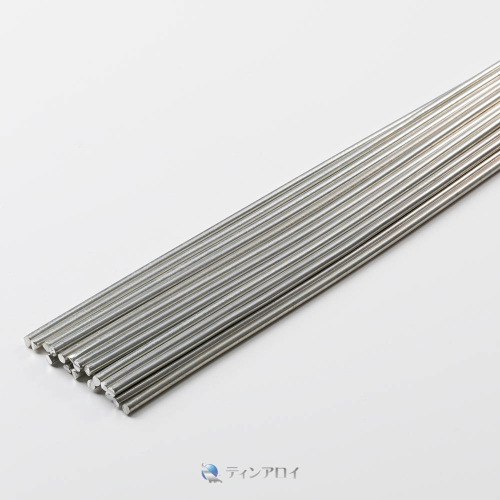 錫線(純度:99.9%) 4.0φ×500mm 1kg