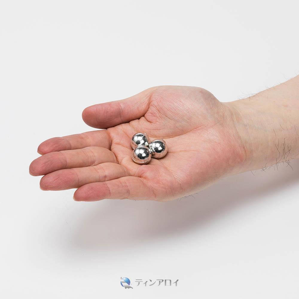 錫ボール(純度:99.9%) 15φ 1kg