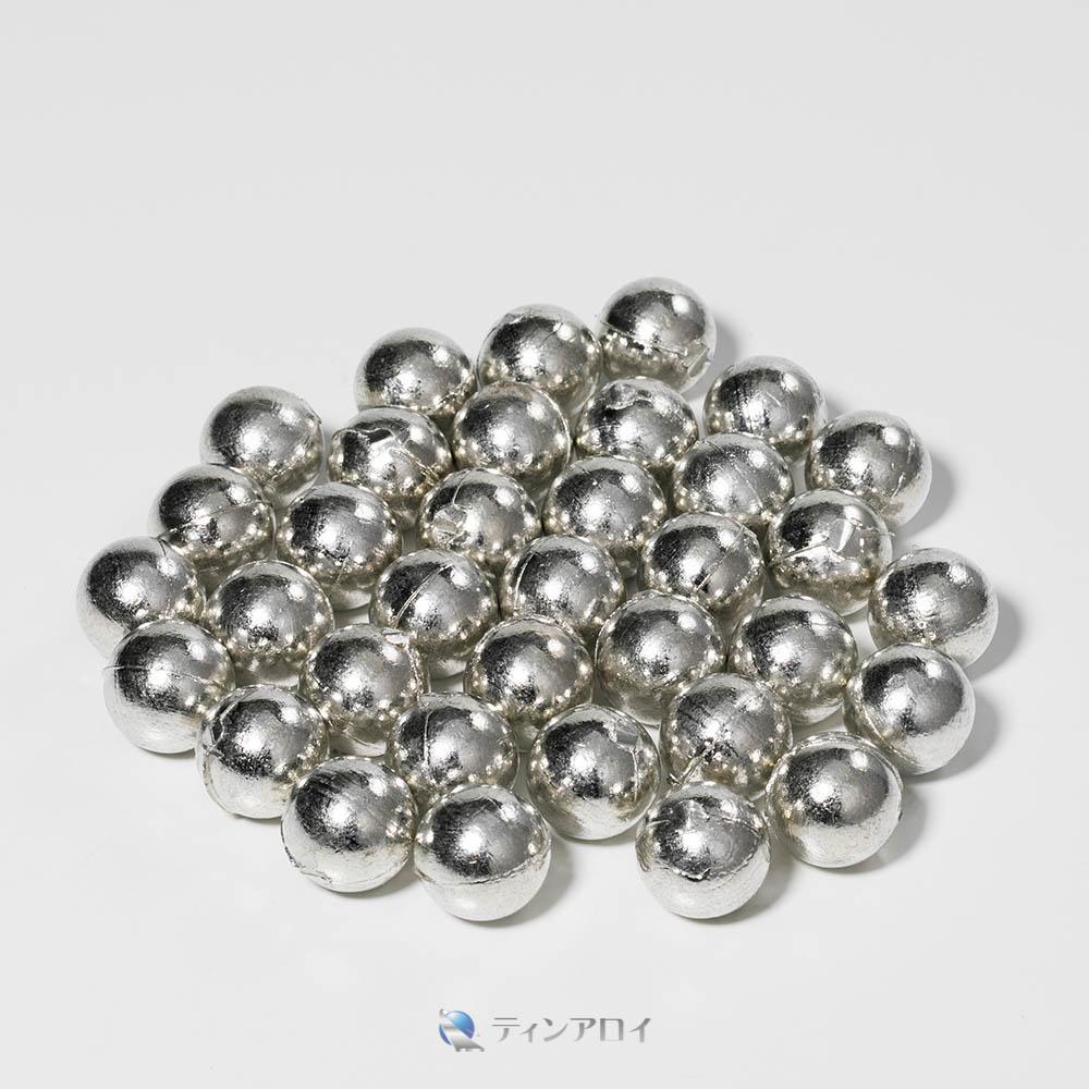 錫ボール(純度:99.9%) 20φ 1kg