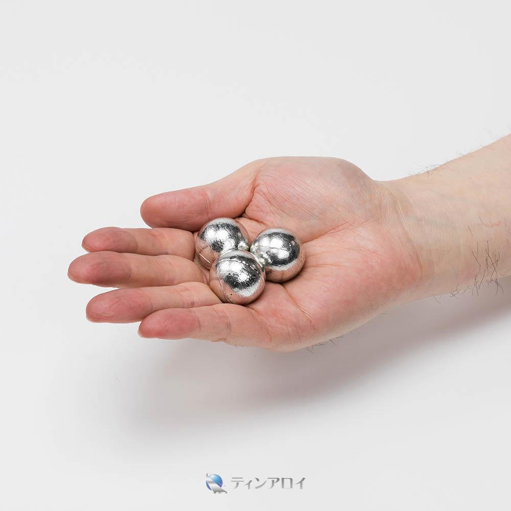 錫ボール(純度:99.9%) 25φ 1kg