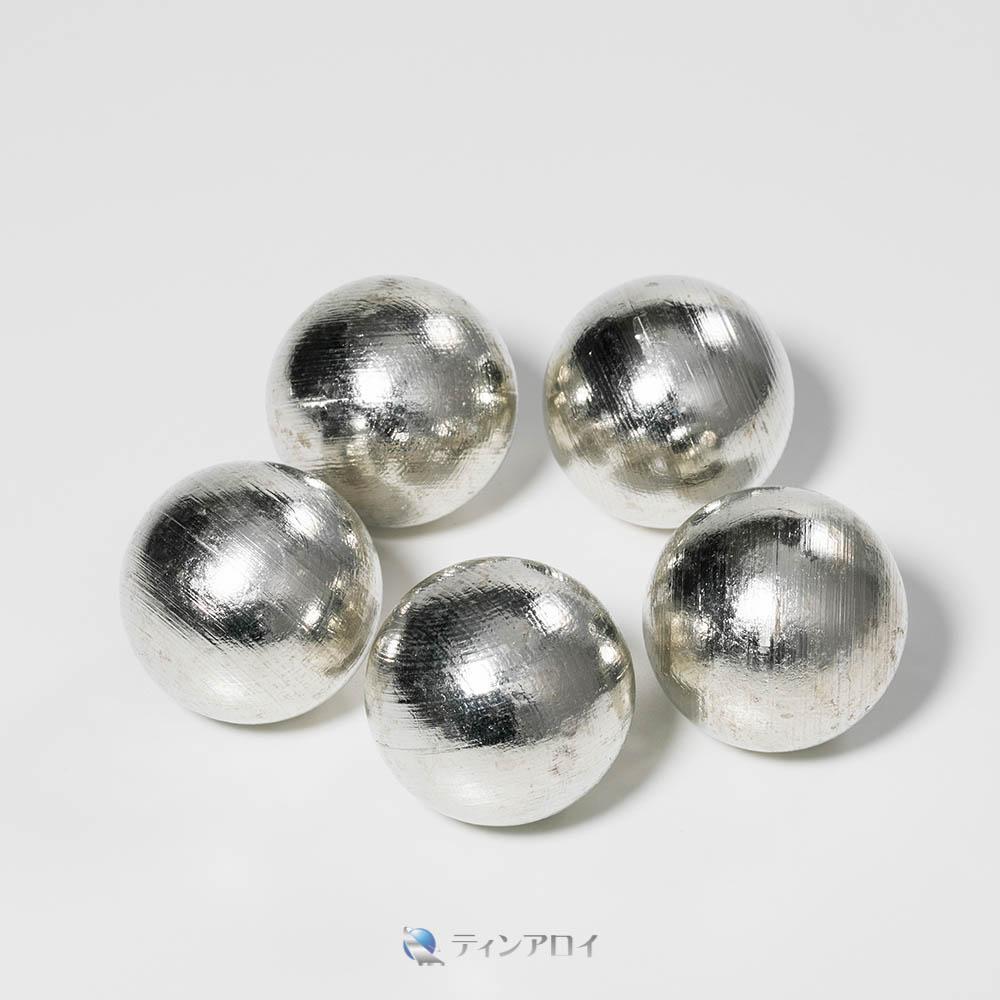 錫ボール(純度:99.9%) 40φ 1kg