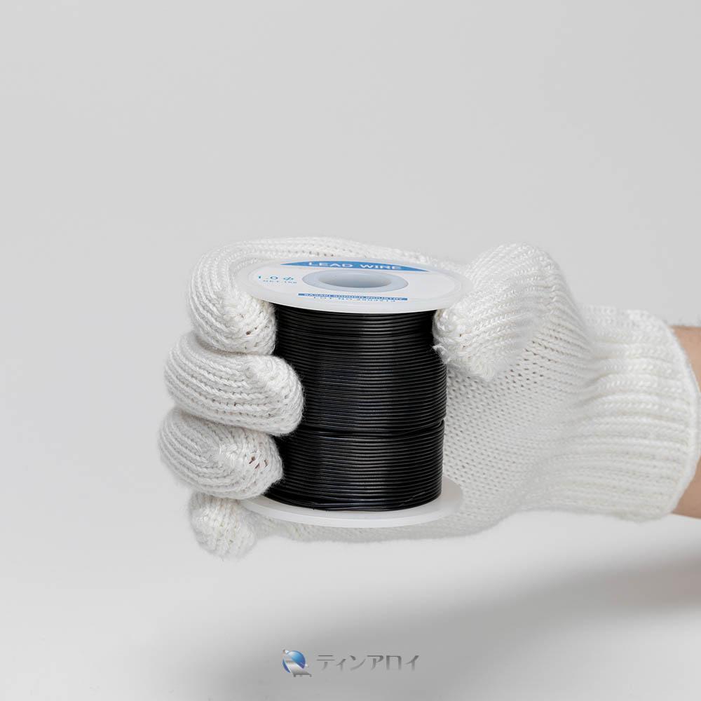 鉛線コイル巻き(純度:99.99%) 1.0φ 1kg