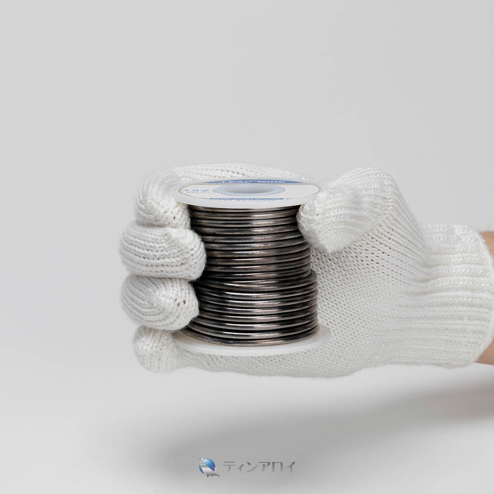 鉛線コイル巻き(純度:99.99%) 3.0φ 1kg