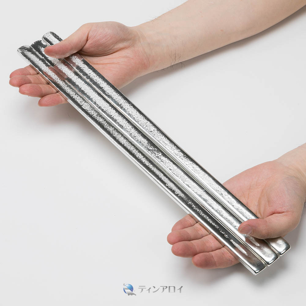 ハンダ棒 鉛フリー(Sn96.5Ag3.5/錫96.5銀3.5) 1kg
