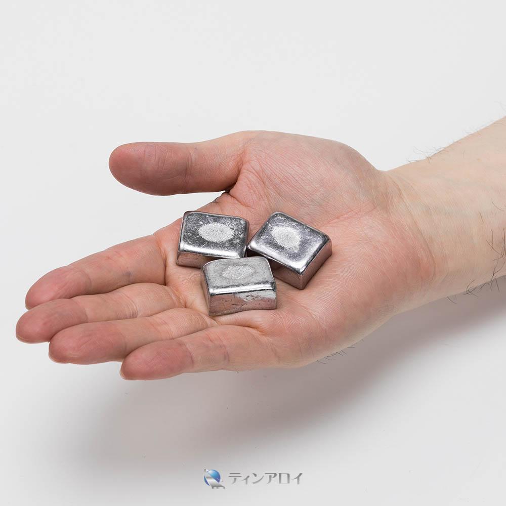 ホワイトメタルチップ(7種)お試しパック100g <レターパック発送・代引き不可>