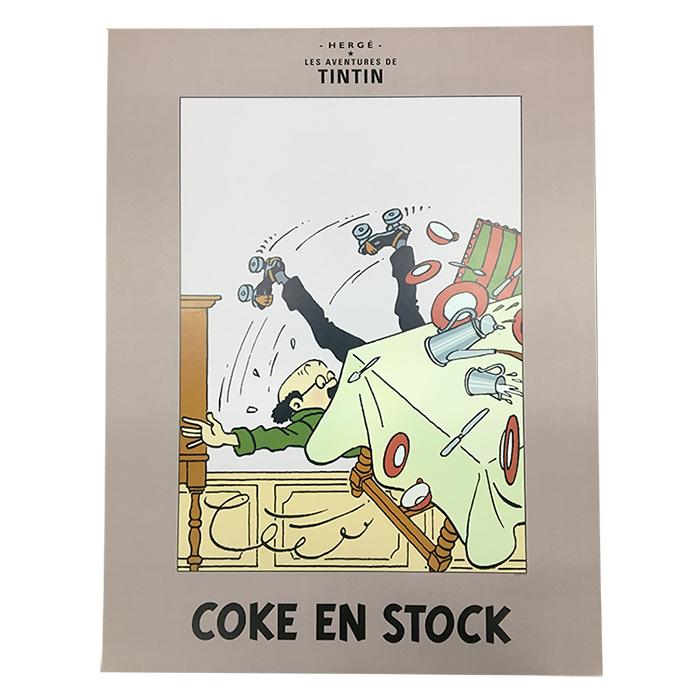 ポスター / COKE STOCK コーク ビーカー