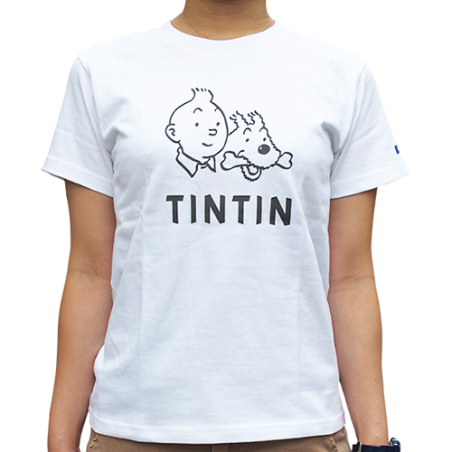 ベーシックTシャツ/フェイス/ホワイト / XS-XL