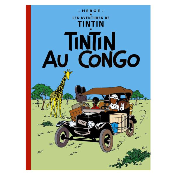 絵本(仏語)タンタンのコンゴ探険