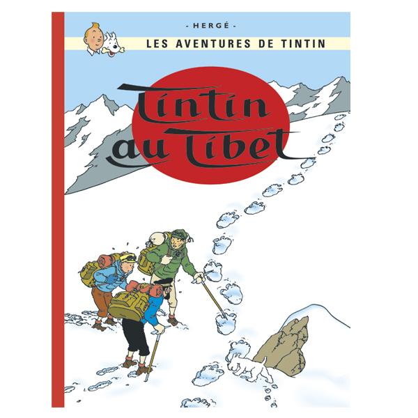 絵本(仏語)タンタン チベットをゆく